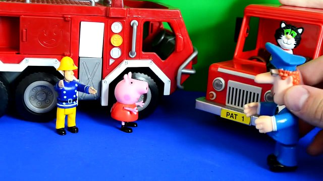surprise toys New Peppa pig fireman sam postman pat thomas and friends Episode Toys