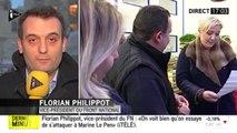 """Florian Philippot : """"Marine Le Pen c'est l'ennemi public numéro 1 du gouvernement et du pouvoir."""""""