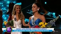 Miss Universe 2015 Shocked Everyone Due To Wrong Beauty Crowned  Huge Mistake Made When Crowning Winner