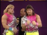 WWF Wrestlemania V - The Rockers Interview