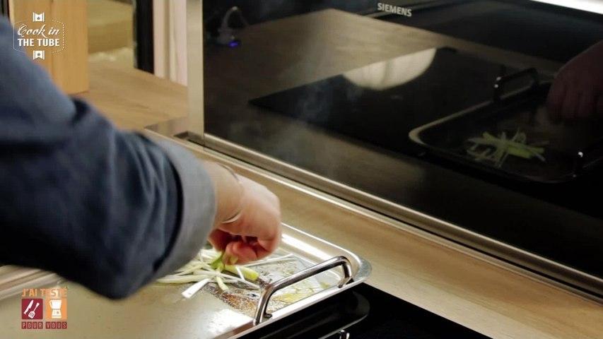 Test Teppanyaki Siemens et table de cuisson FlexInduction - Rumsteak et légumes sautés