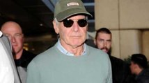 Star Wars' Harrison Ford Causes a Frenzy
