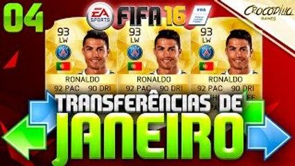 FIFA 16 - POSSÍVEIS TRANSFERÊNCIAS DE JANEIRO #04 - CRISTIANO RONALDO, PATO, MANÉ, POGB