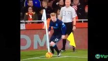 Kevin De Bruyne Epic Fail While Taking Corner Kick!