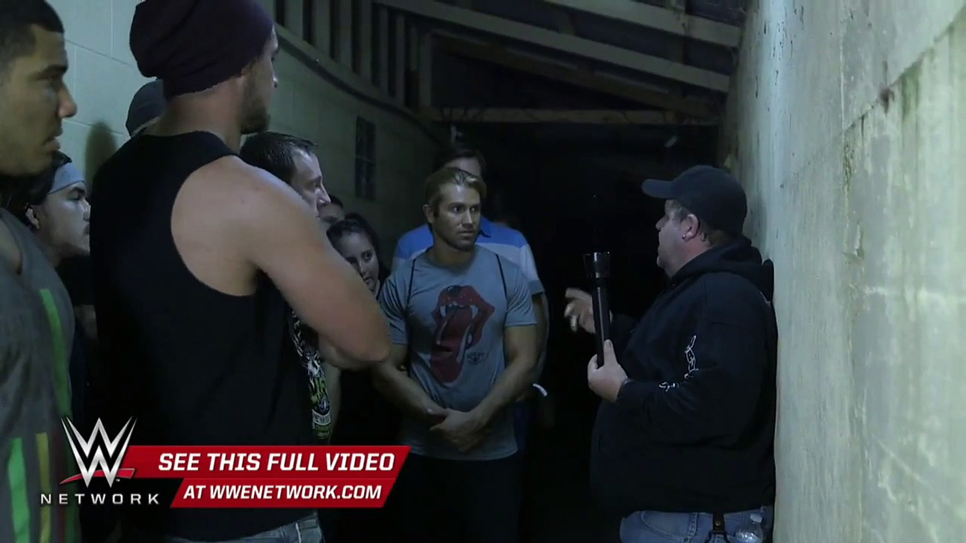 "WWE Network׃ WWE hopefuls visit the ""haunted"" Waverly Hills Sanatorium׃ WWE Breaking Ground"