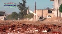 04.11.2015. Сирия, Хама. Авиаудары авиации по боевикам / Syria, Hama. Air strikes on milit