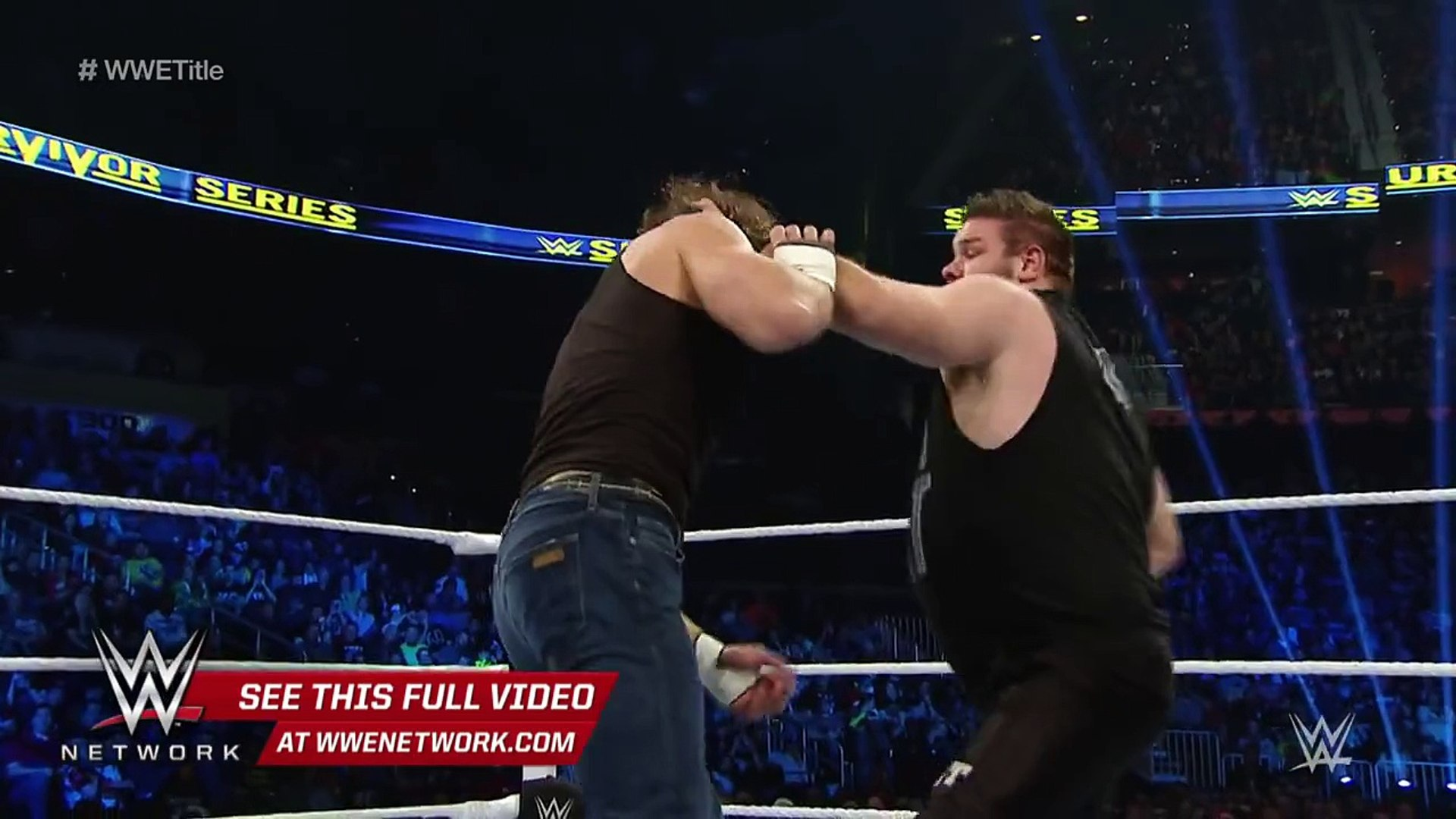 WWE Network׃ Ambrose vs. Owens - WWE World Heavyweight Title Semifinal׃ WWE Survivor Series