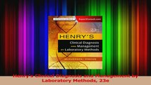 Henry's Clinical Diagnosis and Management by Laboratory