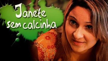 JANETE SEM CALCINHA - JANET WITHOUT PANTY - (subtitled)