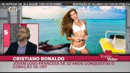 Cristiano Ronaldo tem viajado para Marrocos para estar com Melanie Martins