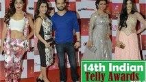 14th Indian Telly Awards 2015 Full Show HD Part 1 | Kainaat, Kamya Punjabi, Rakhi Sawant, Adaa