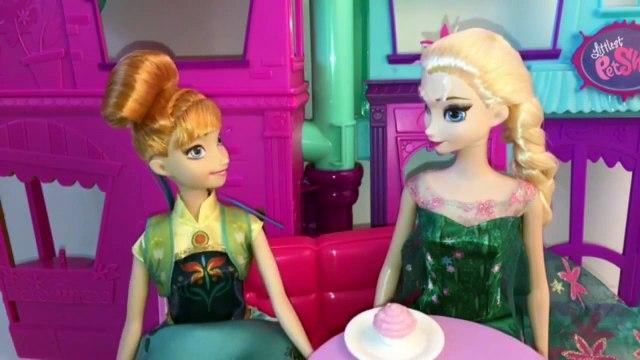 Disney Frozen Queen Elsa Doc McStuffins Frozen Fever Party Episode 2