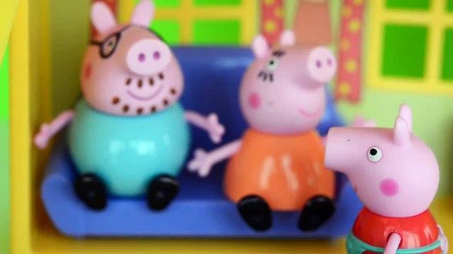 novelinha Pig George da Familia Peppa Pig com Medo da Catapora da Peppa. Em Portugues Tototoykids