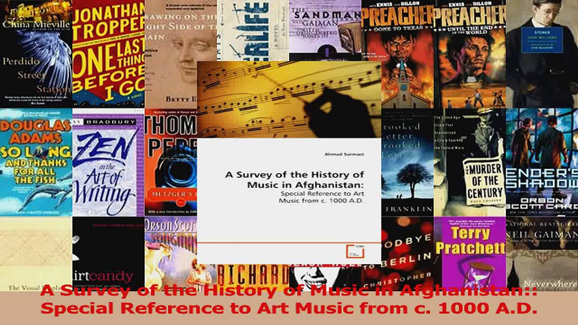 PDF Download  A Survey of the History of Music in Afghanistan Special Reference to Art Music from c
