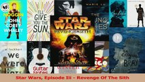 Star Wars Episode Iii  Revenge Of The Sith PDF