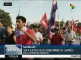 Paraguay: Organizaciones sindicales inician segunda huelga general