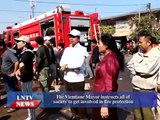 Lao NEWS on LNTV: Vientiane Mayor instructs all to get involved in fire protection.22/5/20