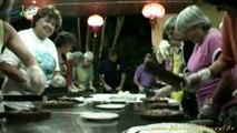 Faire la cuisine au restaurant à Ninh Binh   Voyage au Vietnam avec une agence francophone, cours de cuisine au Vietnam