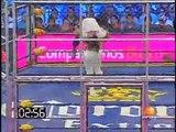 07 Cage Match - Electroshock, El Zorro, Hernandez & LA Par-K vs. Cuervo, Heavy Metal, La Parka & Ozz