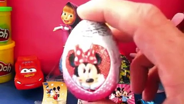 Маша и Медведь Masha i Medved Disney Cars Hello Kitty Peppa Pig Toys Frozen Kinder Surprise