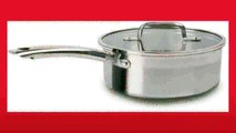 Best buy Covered Saucepan  Tfal C81124 Elegance Stainless Steel Dishwasher Safe 3Quart Source Pan with Glass Lid