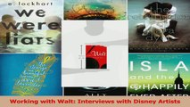 Read  Working with Walt Interviews with Disney Artists Ebook Free
