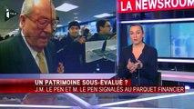 Jean-Marie et Marine Le Pen signalés au parquet national financier