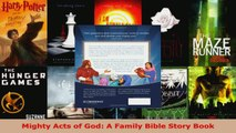 PDF Download  Mighty Acts of God A Family Bible Story Book PDF Online