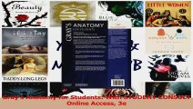 Grays Anatomy for Students With STUDENT CONSULT Online Access 3e Read Online