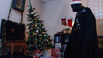 When Darth Vader destroys your Christmas and steals Gifts... Hilarious
