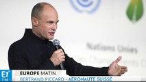 """Bertrand Piccard : """"l'avion peut être le porte-drapeau des technologies propres"""""""