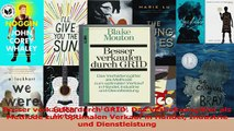 Lesen  Besser verkaufen durch GRID Das Verhaltensgitter als Methode zum optimalen Verkauf in Ebook Frei
