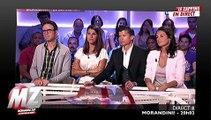 """""""Morandini!"""": Des larmes sur le plateau pour la dernière de Jean-Marc Morandini sur Direct 8"""