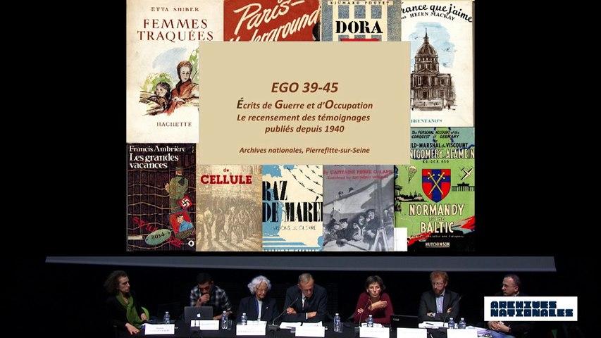 Quatrième table ronde : le témoin. Intervention de  Françoise Passera.