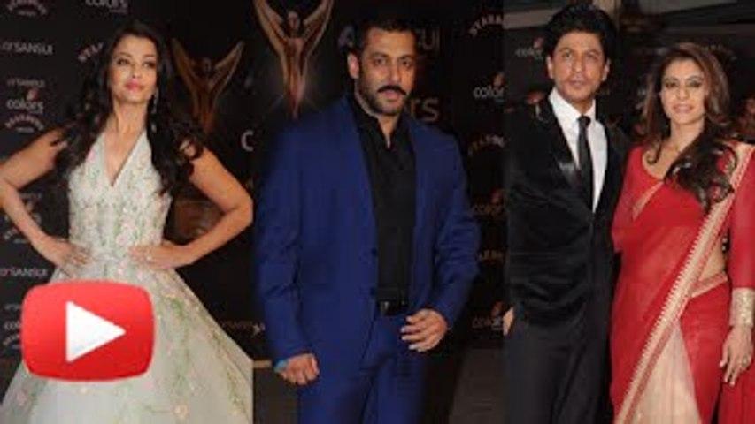 EXES Salman Khan & Aishwarya Rai Come Face to Face At Stardust Awards 2015