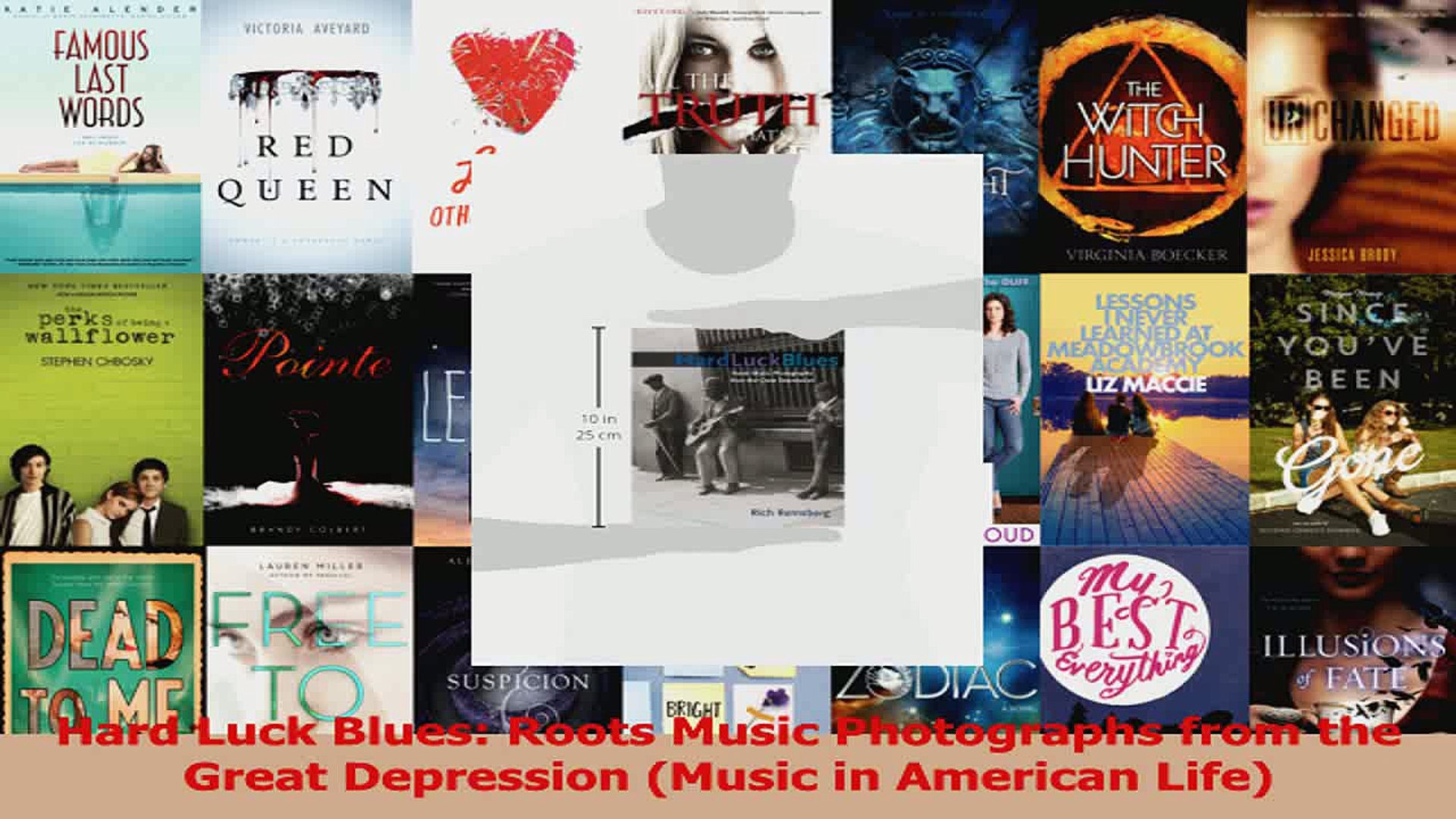 PDF Download  Hard Luck Blues Roots Music Photographs from the Great Depression Music in American Do