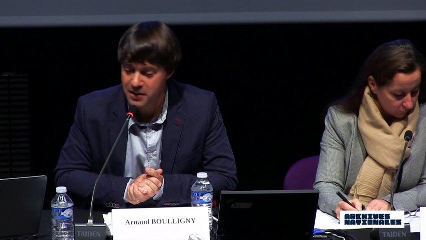 Troisième table ronde : la déportation. Intervention d'Arnaud Boulligny.