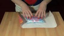 Comment emballer ses cadeaux de Noel au millimètre. Pliages mathématiques