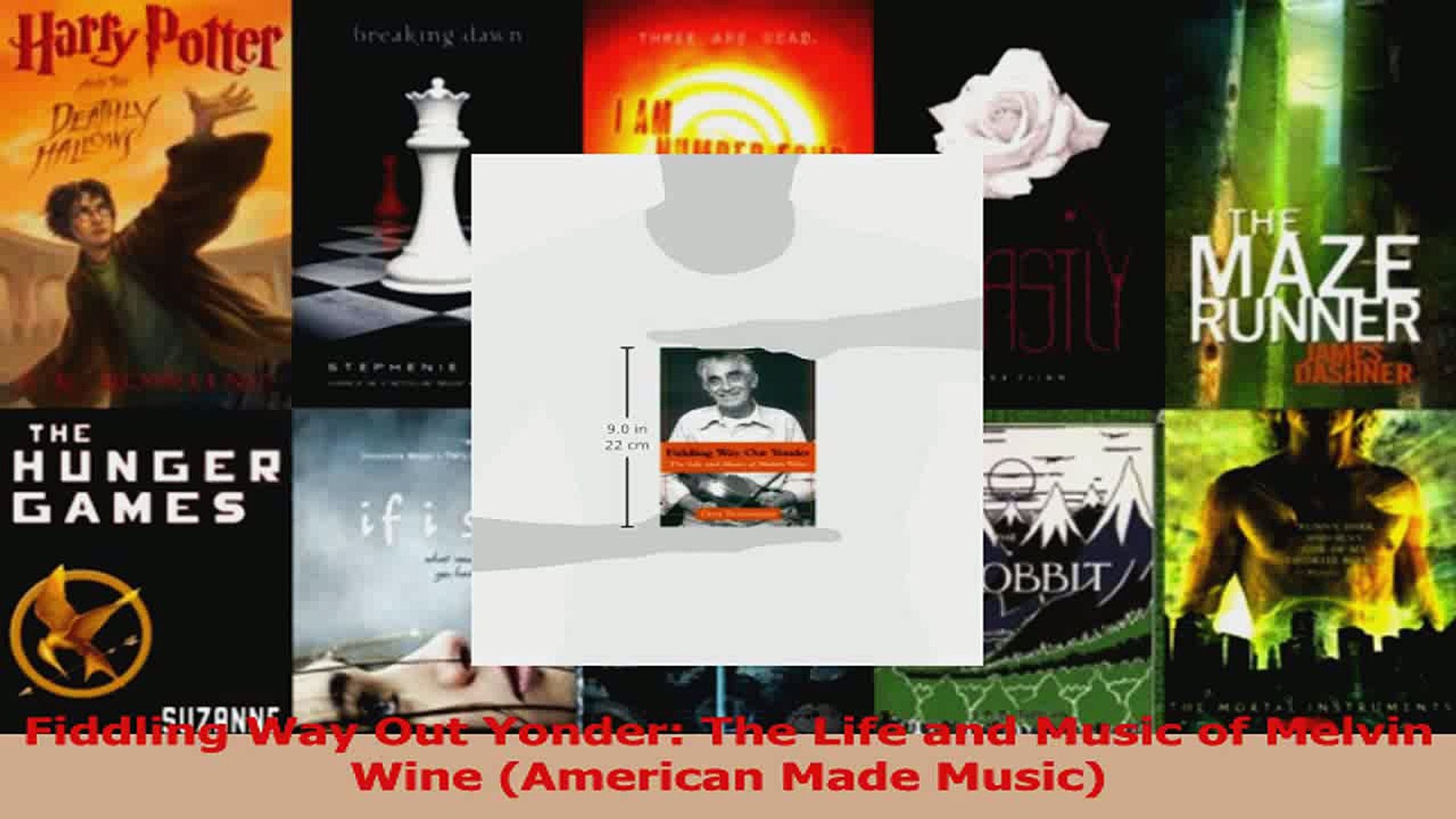 PDF Download  Fiddling Way Out Yonder The Life and Music of Melvin Wine American Made Music Download