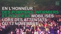 Les images du concert hommage du 13 novembre à Bercy