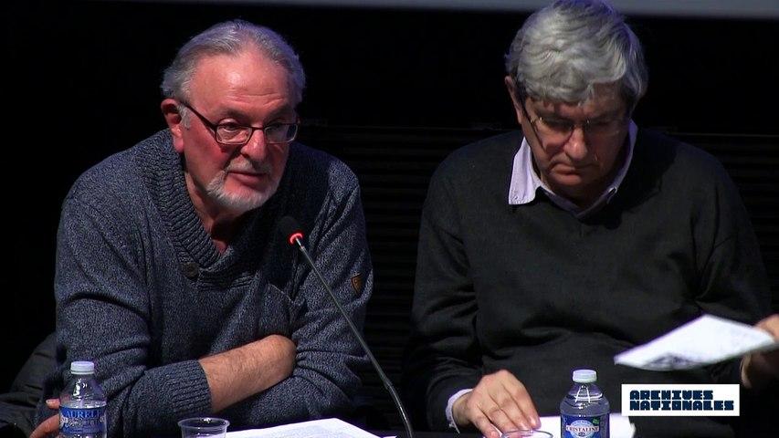 Première table ronde : la répression. Intervention de Jean-Claude Magrinelli.