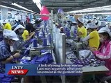 Lao NEWS on LNTV: A lack of young factory workers in Laos may negatively affect.10/6/2015