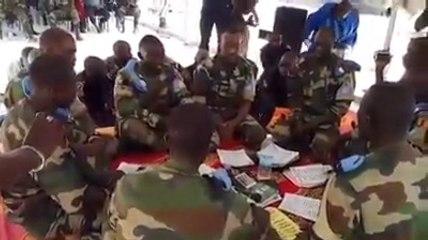 Magal 2015 en Centre Afrique : Prestation Kourel Soldats dans le camp militaire. Les vraie Jàmbaars de Bamba !