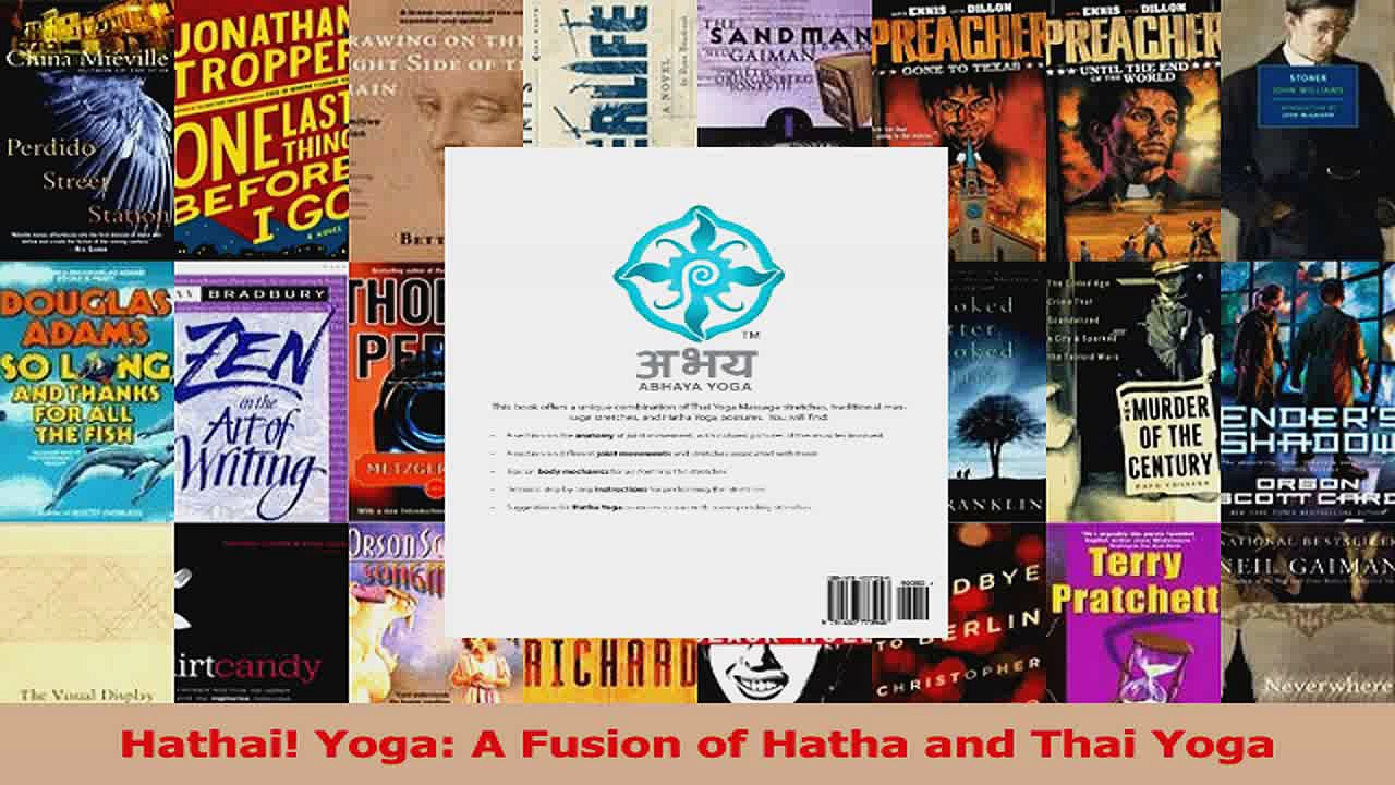 Read  Hathai Yoga A Fusion of Hatha and Thai Yoga PDF Free