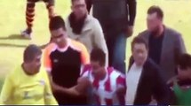 Turkish footballer loses it and kicks his opponent in the head!