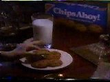 1988 Chips Ahoy and Striped Chips Ahoy Commercials - Betcha Bite A Chip