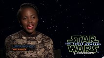 Star Wars: The Force Awakens - Exclusive Lupita Nyongo Interview (2015) HD