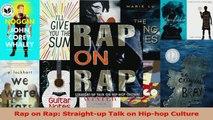 PDF Download  Rap on Rap Straightup Talk on Hiphop Culture Download Full Ebook