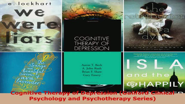 Read  Cognitive Therapy of Depression Guilford Clinical Psychology and Psychotherapy Series Ebook Free