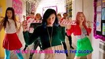 Make It Pop | 'Deck the Halls' Official Karaoke Version | Nick